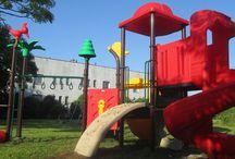 Ostatnia realizacja - Łazy / Budowanie placów zabaw to niezwykle przyjemne zadanie. Radość kolejnych dzieci, które mogą bawić się w nowym miejscu jest ogromną nagrodą. Oto kolejna udana realizacja: plac zabaw w przedszkolu w Łazach.