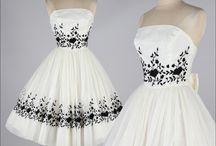 Винтажные платья 50-ых