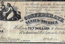 Confederate Currency / Colonial Currency of the 1700's, Confederate and Fractional Currency of the 1860's, United States Notes, Silver Certificates, Gold Certificates, National Currency and Federal Reserve Notes are among the currency LCGON inventories. Historically relevant, each series in part tells the story of U.S. history and economy. Artistically rendered, and symbolically rich, they are esthetically pleasing to collect.
