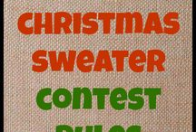 Ugly sweater contest ideas