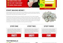 google money landing page design