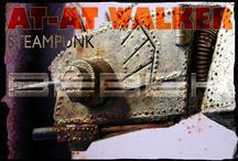 Steampunk  / Steampunk AT AT Walker