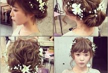 wedding 髪型