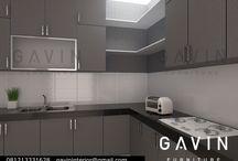 Kitchen Cabinet / pembuatan kitchen cabinet by Gavin Furniture. juga custom furniture untuk Wardrobe, backdrop TV, TV Credenza