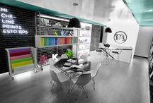 Espacios Creativos / Diseño de estudios y espacios creativos.