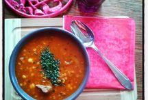 De la soupe, oh oui ^^ / La soupe c'est la seule chose qui me ferait aimer l'hiver