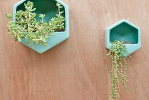 Planters & Vases / Inspirational ideas for bringing a bit of nature into your home