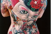 Enhanced and Decorated / Tattoos and modifications