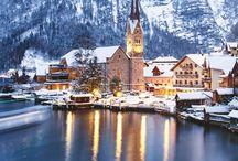 Hallstatt Lake Austria
