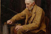arte - Albert Anker (1831-1910) / arte - pittore svizzero