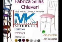 sillas chiavari / sillas chiavari metalicas