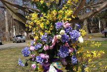Spring Splendor / Spring floral decorations from Garden Craft inc