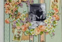 ALBUMS G45 SWEET SENTIMENTS layouts cards etc