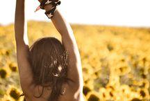 Sunflower Field Photography Shoot Ideas