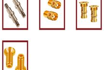 Screw Machine Parts / We are offering high quality embedded Screw Machine Part in different sizes and shapes. These machine parts are made with the use of best quality material.