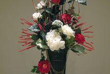 kompozycje kwiatów