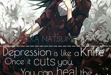 Dark anime Quotes