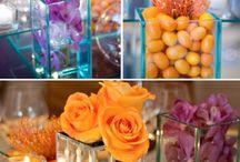 esküvő narancs lilla
