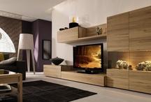 tv & wall unit / lounge