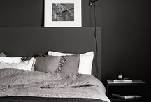 DARK COLORED ROOMS / by Anette Willemine Solheim