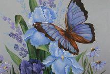 Butterfly art / Art du Papillon