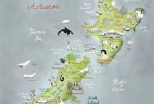 New Zealand Maps / Maps and Infographics of New Zealand