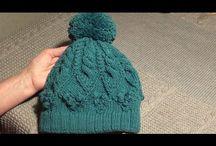 CZAPKI - YOU TUBE / Sposób wykonywania czapek