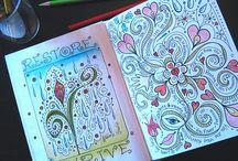 @art journaling ideas / by Laura Jones