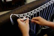 flecos de hilo para traje de gitana