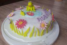 Meine Fondant Kuchen