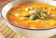soupe, bouillon