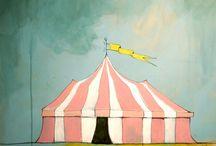 Circus mood board