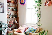 interiors: living room / Home decor and inspiration