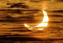 sunset and moonlight / .. / by hanife yorulmaz