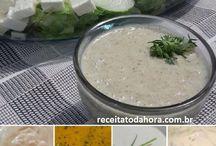 molhos de saladas