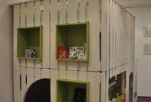 PALLET KIDS HOUSE DIY PROJECT