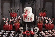 Bloody Good Sweets & Treats Ideas! / Click through terrifyingly terrific ideas for cupcakes, cake, candy apples & more! / by Party City