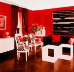 COLOR: Red / When your space has a fiery personality...!
