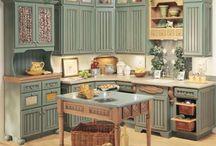 Kitchen - decor - home