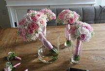 Hoek bloemsierkunst