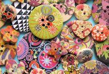botões antigos