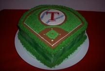 Birthday's -- Baseball / Baseball Themed Cakes,Cupcakes and Party Ideas. / by Vicki Wilson
