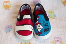 The cat in the hat shoes