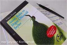 Books - Kitaplar / Okuyup bloğuma eklediklerim...