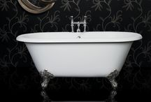 Luxury Freestanding Baths / A freestanding bath looks stunning in both small and large bathrooms and adds a touch of luxury.  Suitable for both modern and contemporary bathrooms as well as traditional styles.  #freestanding #baths #stylish