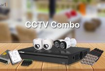 Online Security CCTV Surveillance Combo Kit / Get Complete CCTV combo kit at one place for all your security requirements. All in one pack CCTV Camera, Hard Disk, DVR, Power Supply, Connectors, Wires.