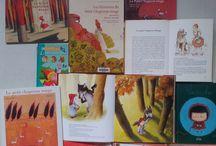 Le Petit Chaperon Rouge / Livres jeunesse et images sur ce célèbre conte de Perrault et des Frères Grimm aux nombreux détournements et évocations!