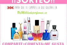 um millón de perfumes / Sorteo