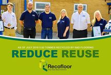 Recofloor / Latest News, Successes and Involvement with Polyflor and Altro Recofloor Vinyl Take Back Scheme