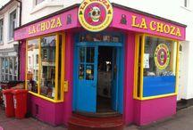 Reviews: La Choza / Brighton's fantastic authentic Mexican streetfood diner http://bitemebrighton.wordpress.com/2013/06/29/la-choza-sunday-9th-june-2013/